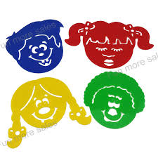 Funny Face Templates Us 4 29 4designs Stencils Kids Drawing Templates Plastic Funny Face Painting Boards Diy Baby Children Hot Educational Toys 102 162mm In Drawing Toys