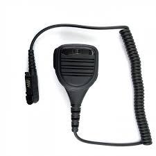 motorola xpr 3500. zeadio zp-amc011 waterproof/rainproof shoulder remote speaker 3.5mm headphone jack mic microphone motorola xpr 3500