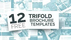 Simple Fold Brochure Templates Free Simple Fold Brochure
