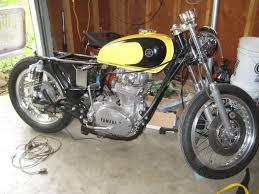 xs650 street tracker build one up moto garage
