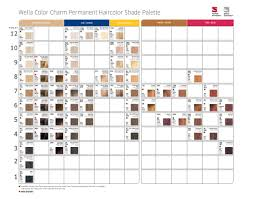 Wella Chart Pin By Sarahs Pins On Beauty And Hair In 2019 Wella Hair