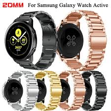 20mm Stainless Steel Band <b>Bracelet For Samsung Galaxy</b> Watch ...