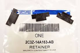 new genuine ford oem wiring harness retainer (3) kit 2c3z14a163ab automotive wire routing clips at Wiring Harness Retainers