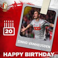 🎂 Happy birthday Zinho Vanheusden (20) 🇧🇪 - Standard de Liège