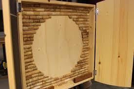 Dart Board Cabinet With Chalkboard Washington Dc Dart Board Cabinet John Can Make It