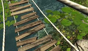 Wooden Bridge Game Magnificent Virtual Nature 32D Unity Assets UE32 Game Development