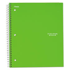 06190 Mead Five Star Graph Ruled Notebook Mea06190