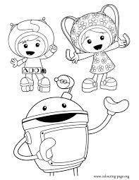 Small Picture Coloring Pages Umizoomi Coloring Pages Printable Team Umizoomi