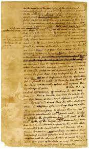 gotham a blog for scholars of new york city history the gotham  new york convention 1788 circular letter draft in john jay s hand poughkeepsie n y 26 1788 new york historical society library department of