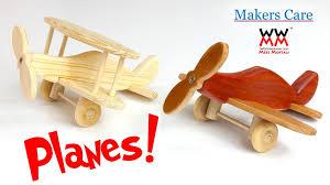 make a wooden toy plane