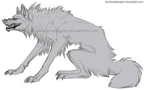 white wolf growling drawing. Growling Wolf Lines By TheShadowedGrim On White Drawing
