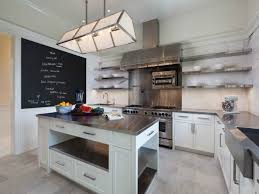 stainless steel counters modern kitchen