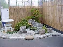front yard ideas japanese rock garden