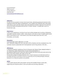 14 Fresh Truck Driver Resume Sample Stock Telferscotresources Com