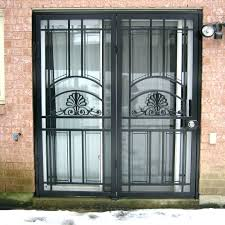 security screen for sliding glass door security gate for sliding glass door full size of folding