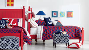 20 Bold Bedrooms in Blue, Red and White Colors   Home Design Lover