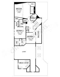 montpellier contemporary house plans narrow floor plans House Plans Modern 2 Story the montpellier house plan contemporary floor house plan second floor layout 2 story modern ranch house plans