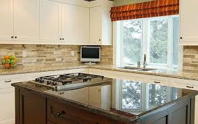 Kitchen Backsplashes With White Cabinets Ideas Railing Stairs And