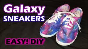 sharpie galaxy sneakers diy