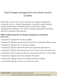 We found 70++ Images in Change Management Resume Gallery:
