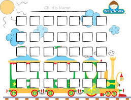 Printable Potty Charts For Toddlers