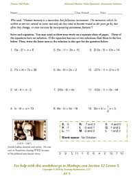 solve for x worksheets awesome solving absolute value equations and inequalities worksheet free image