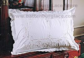 king size pillow shams pillow shams imperial embroidery battenburg lace store the home