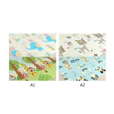 portable foldable baby climbing play mat xpe puzzle childrens thickened room crawling pad game blanket carpet