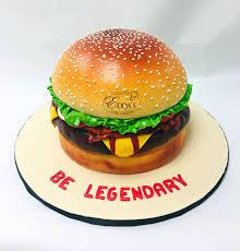 Burger Cake Design Pin By Eddas Cake Designs On Childrens Birthday Cakes In