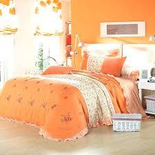 green and orange bedding sets orange bedding sets queen country style pink green orange flower print