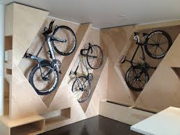 ... Decoration:Bike Wall Shelf Double Bike Rack Wall Cycle Wall Storage How  To Hang A