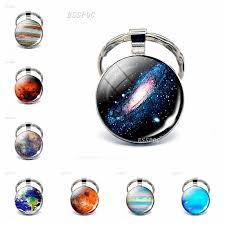 Nebula <b>Galaxy</b> Double Sided Glass Ball <b>Pendant Necklace</b> ...