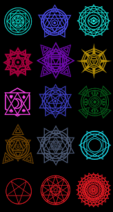 Chaos magic casts 1 of 25 spells when the effected spell's projectile hits something and/or expires. Sse Magic Circles By Moai666 On Deviantart