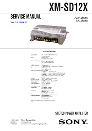 sony cdx c5050xc5055 supp 1 sm service manual dsx s100 ver 1 0 sony