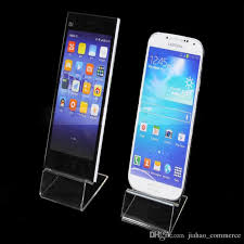 Cell Phone Display Stands 100 Dhl Fast Delivery Acrylic Cell Phone Mobile Phone Display 90