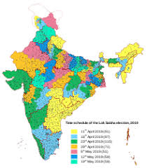 Congress Seating Chart State Of The Union 2019 Indian General Election Wikipedia