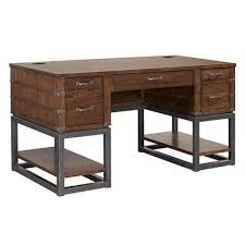 desks for home office. Picture Of Canfield 61-Inch Pedestal Desk Desks For Home Office