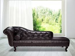 Furniture: Chaise Lounge Sofa Bed Inspirational Deluxe Vintage Style Faux  Leather Chaise Longue Lounge -