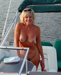 Mature Topless Women On Boats