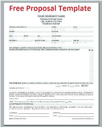 Free Proposal Forms Awesome Quote Proposal Template One Piece Commercial Insurance At