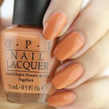opi freedom of peach nail lacquer opi powder perfection