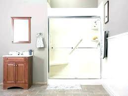 shower door handle repair inch glass shower door towel bar handle x fl broken window kohler