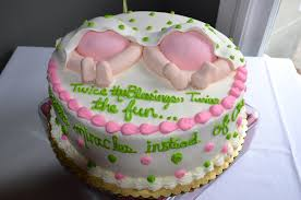 twin baby girls cakes for birthday twin baby shower cake ideas baby shower diy