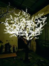 led tree lamp cherry blossom tree light lighted tree table lamp