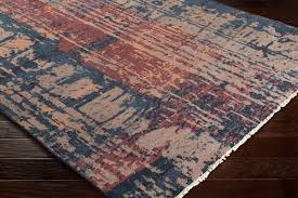 area rugs pelayo hand knotted wool navy burdy area rug