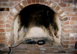 prepare for painting inside fireplace brick lined fireplace