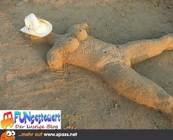 Sand Sonnenbad Lustige Bilder Auf Spassnet