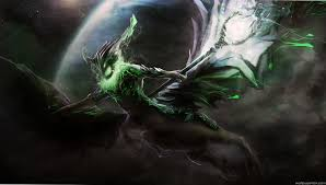 beautiful harbinger outworld devourer dota 2 abstract full hd