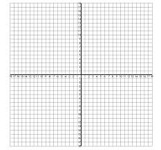 X Axis Y Graph Paper Coordinate Axes Printable Template Strand