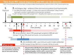 Timeline For Immune Responses And Testing Guides Hiv I Base